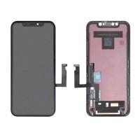 IPHONE XR X R LCD DISPLAY ASSEMBLATO COMPATIBILE COLORE BLACK NERO